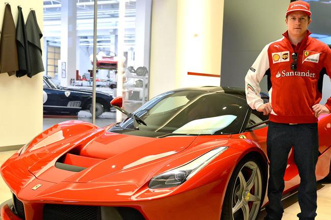 Kimi Raikkonen - Ferrari - LaFerrari - 2014