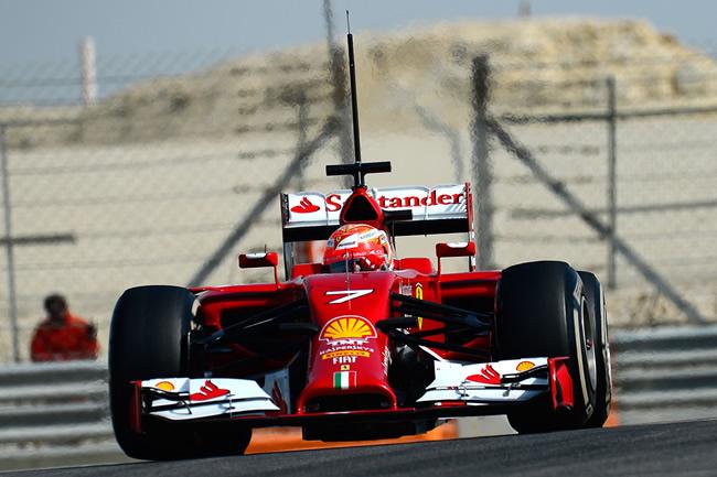 Kimi Raikkonen - Test 2 - Bahréin - 2014 - Scuderia Ferrari - Primer día