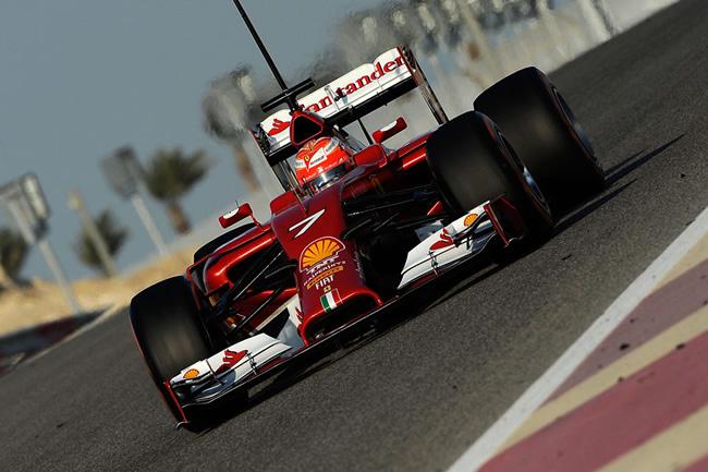Kimi Raikkonen - Test Bahréin - Ferrari  - 2014