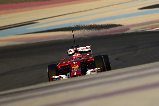 Kimi Raikkonen - Scuderia Ferrari - Test Bahréin - 2014 - día 4