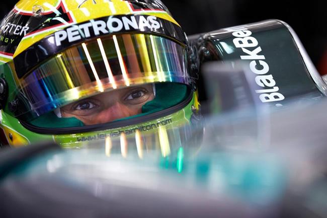 Lewis Hamilton - Test Bahréin - día 3 - más rápido - Mercedes AMG F1