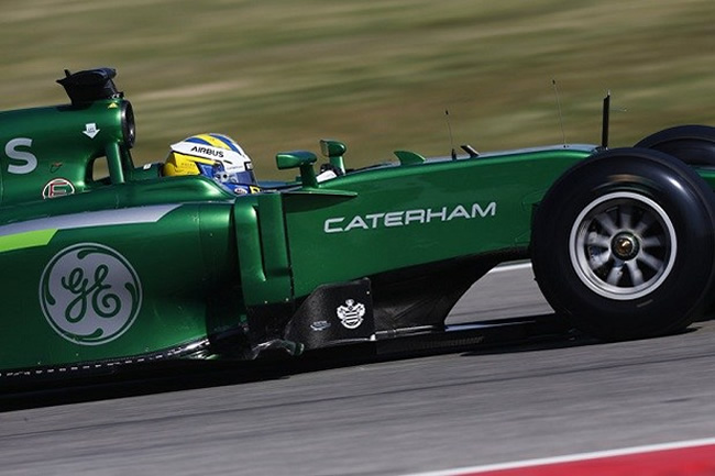 Marcus Ericsson - Test Bahréin - 2014 - día 4 - Caterham