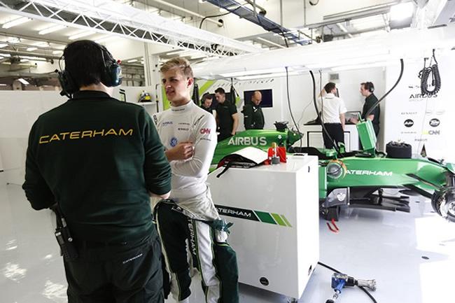Marcus Ericsson - Caterham - Test Bahréin - día 3