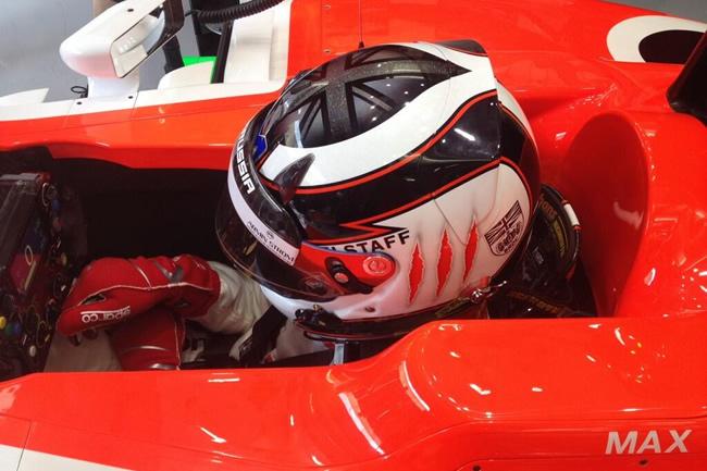 Max Chilton - Test - 3 - Bahrein 2- 2014  día 5 - 1 - Marussia