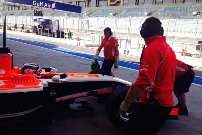 Marussia - Max Chilton - Test - Bahréin - Segundo día