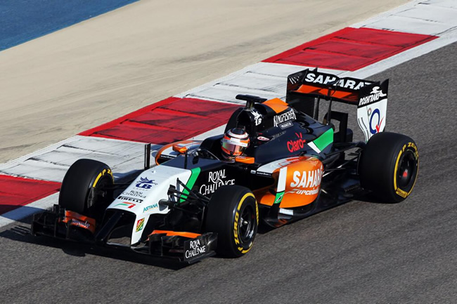 Nico Hulkenberg - Force India - Test - Bahréin - Primer día