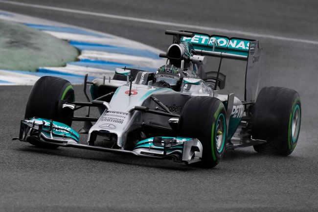 Nico Rosberg - Mercedes - F1 W05 - Test Jerez 2014