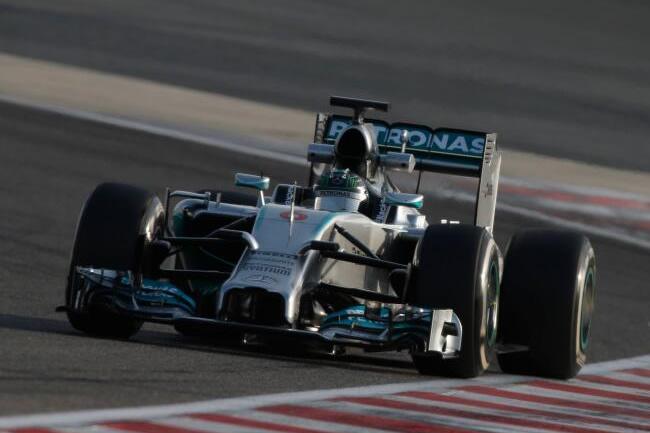 Nico Rosberg - Test 2 - Mercedes - Bahréin - día 5 - primer día - 2014