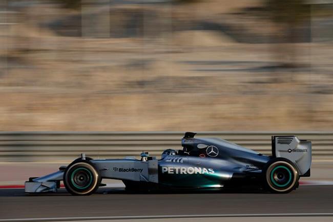 Nico Rosberg - Mercedes AMG F1 - Test Bahréin - día 2 - 2014