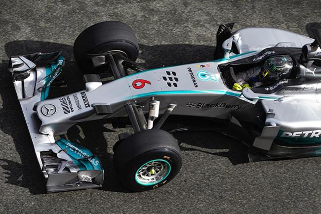 Nico Rosberg - Test Bahréin - día 4 - Mercedes AMG F1 - 2014
