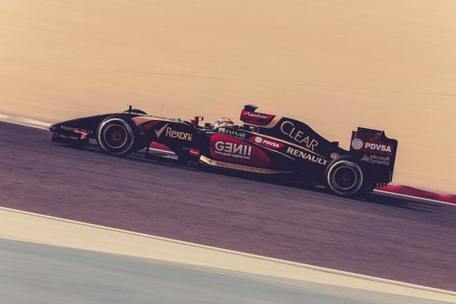 Pastor Maldonado - Lotus F1 - Test Bahréin - día 4 - 2014