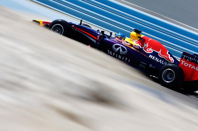 Sebastian Vettel - Red Bull Racing - Test Bahréin - 2014 - día 2