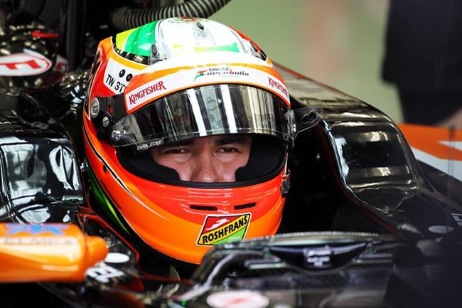 Sergio Pérez - Sahara Force India - Test Bahréin 2 - Día 5 (1) - 2014