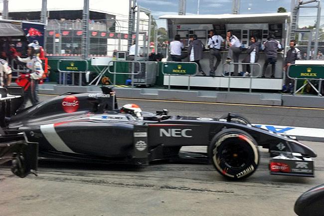 Adrian Sutil - Sauber - Gran Premio de Australia - Domingo