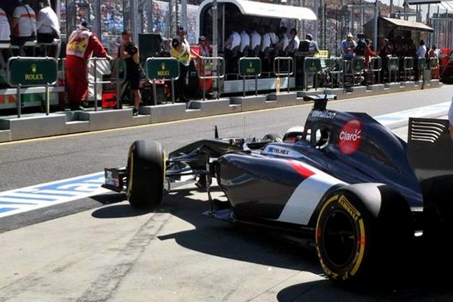 Adrian Sutil - Sauber - Gran Premio de Australia