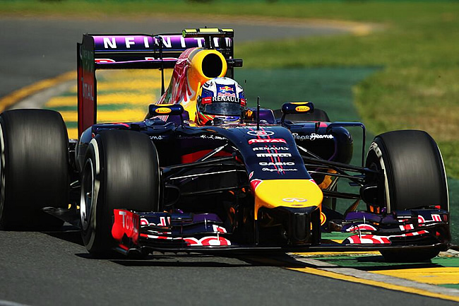 Daniel Ricciardo - Red Bull Racing - Gran Premio de Australia 2014 - Viernes