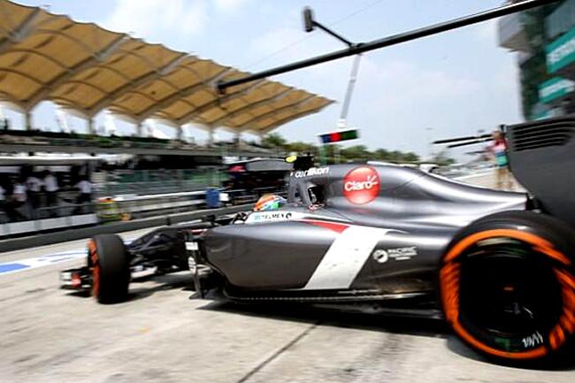Esteban Gutiérrez - Gran Premio de Malasia - Sepang 2014 - Calificación