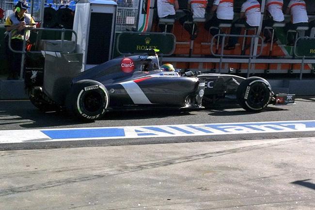 Esteban Gutiérrez - Sauber - Gran Premio Australia - 2014 - Viernes