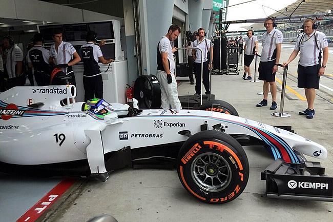 Felipe Massa - Gran Premio de Malasia - Sepang 2014 - Viernes