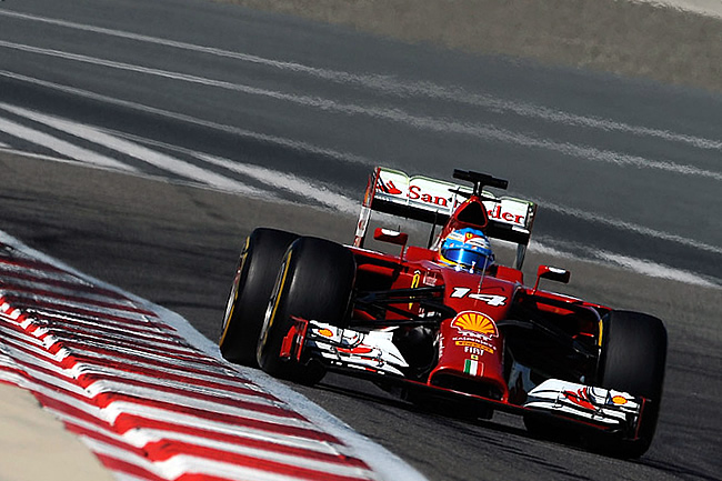Fernando Alonso - Scuderia Ferrari - Test 2 Bahréin - 2014 - día 8 (4)