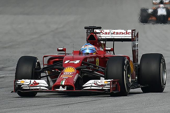 Fernando Alonso - Scuderia Ferrari - Gran Premio de Malasia - Sepang 2014 - Domingo
