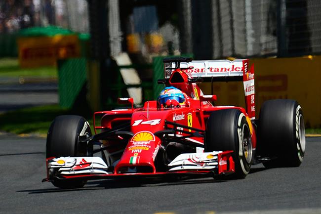 Fernando Alonso - Scuderia Ferrari - Gran Premio de Australia 2014 - Viernes