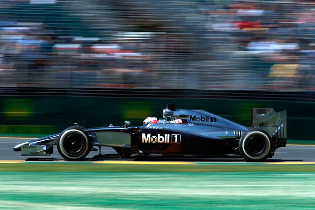 Jenson Button - McLaren - Gran Premio de Australia 2014 - Viernes