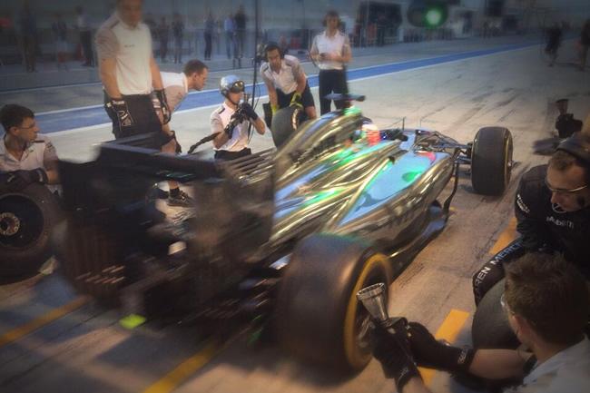 Jenson Button - McLaren - Test Bahréin - 2014 - Día 2 (6)