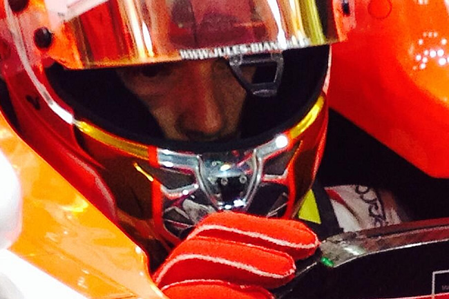 Jules Bianchi - Marussia - Test Bahréin 2 - 2014 - día 2 (6)