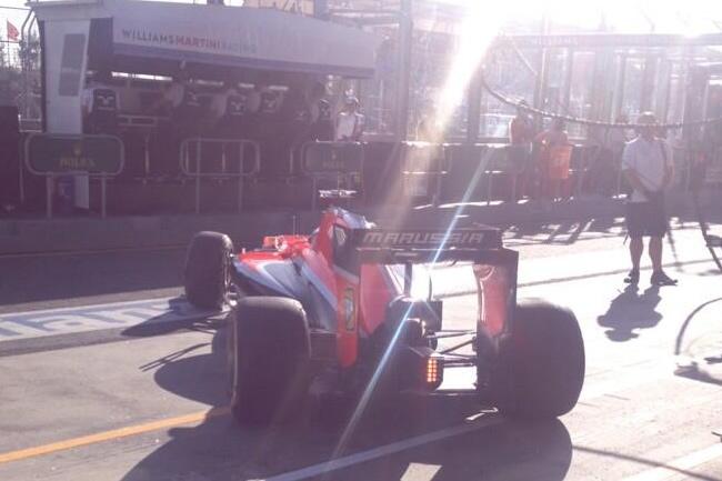 Jules Bianchi - Marussia - Gran Premio de Australia 2014 - Viernes
