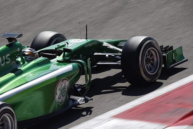 Kamui Kobayashi - Caterham - Test 2 Bahréin - 2014 - día 8 (4)