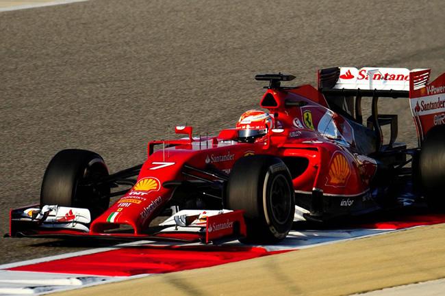 KImi Raikkonen - Scuderia Ferrari - Test Bahréin - 2014 - día 7 (3)
