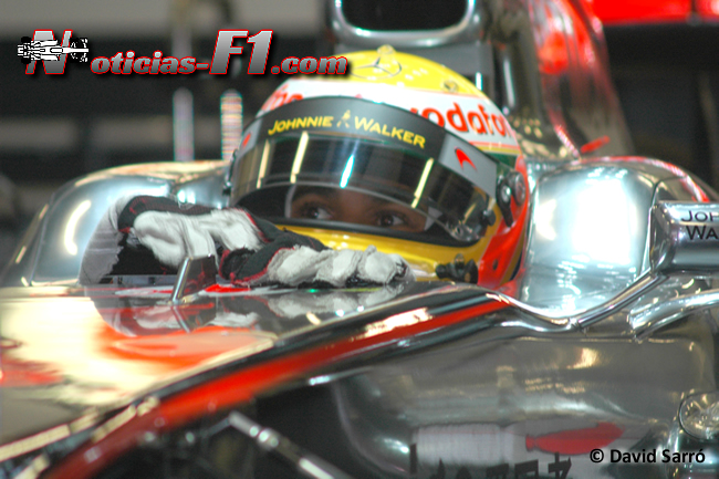Lewis Hamilton - McLaren - David Sarró - www.noticias-f1.com