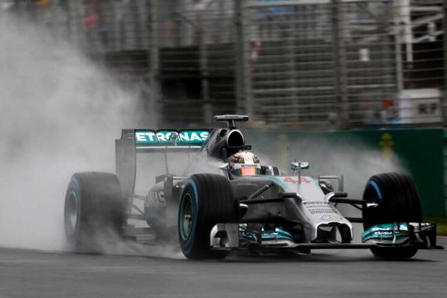 Lewis Hamilton - Mercedes - Gran Premio de Australia - Pole
