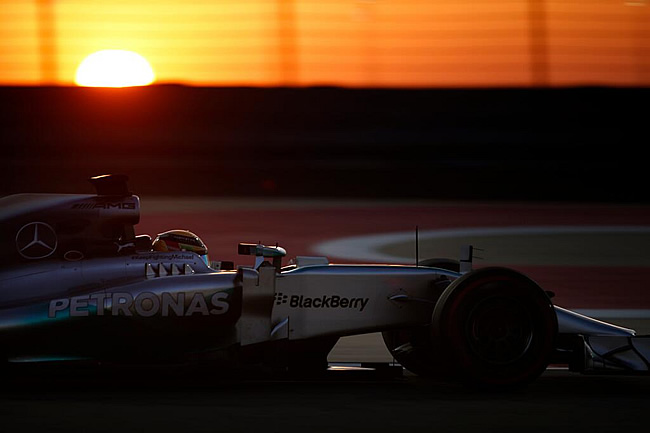 Lewis Hamilton - Mercedes AMG F1 - Test 2 Bahréin - Día 4 - Último