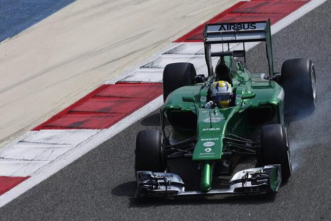Marcus Ericsson - Caterham - 2014 - Test Bahréin 2 - día 2 (6)