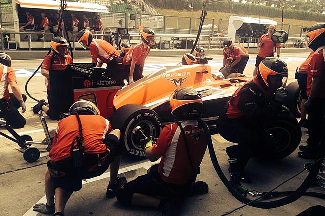 Marussia - GP de Malasia, Sepang 2014 - Viernes