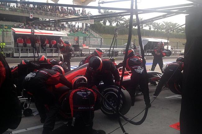 Max Chilton - Gran Premio de Malasia - Sepang 2014 - Domingo