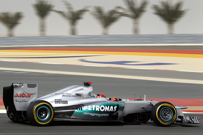 Michael Schumacher - GP Bahréin - 2012