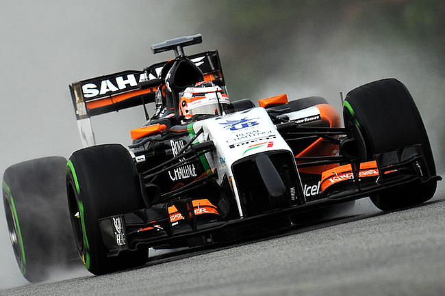 Nico Hulkenberg - Sahara Force India - Gran Premio de Malasia - Sepang 2014 - Calificación