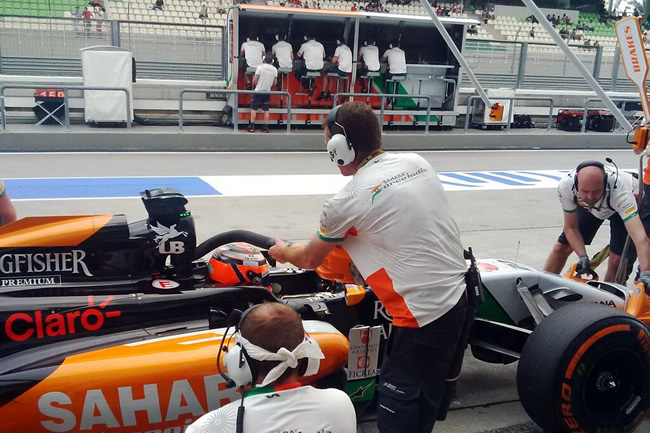 Nico Hulkenberg - Sahara Force India - Gran Premio de Malasia, Sepang 2014 - Viernes