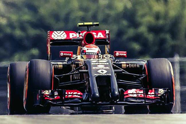 Pastor Maldonado - Lotus - Gran Premio de Malasia - Sepang 2014 - Viernes