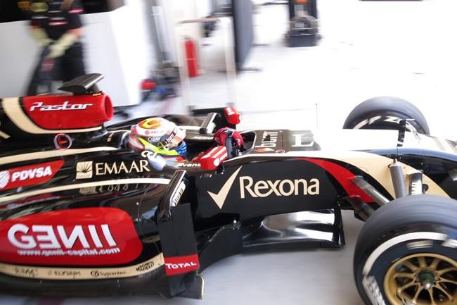 Pastor Maldonado - Lotus - Test Bahréin 2 - día 2 (6)