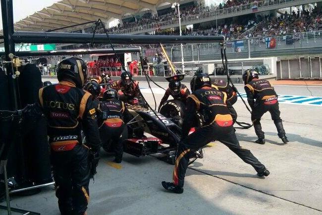 Romain Grosjean - Gran Premio de Malasia - Sepang 2014 - Domingo