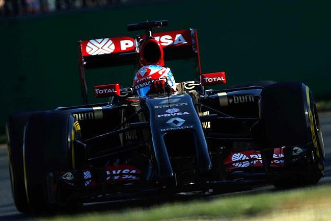 Romain Grosjean - Lotus - Gran Premio de Australia - Calificación