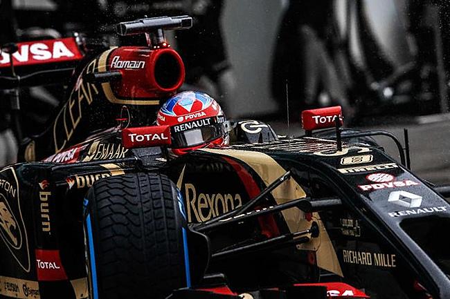 Romain Grosjean - Lotus - Gran Premio de Malasia - Sepang 2014 - Calificación