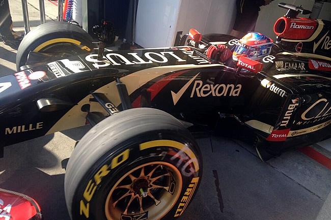 Romain Grosjean - Lotus F1 - Gran Premio de Australia 2014 - Viernes