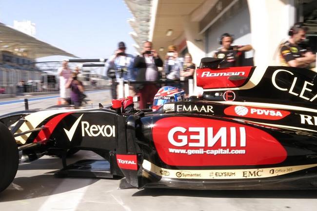 Romain Grosjean - Lotus - Test 2 Bahréin  - 2014 - día 7 (3)