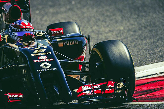 Romain Grosjean - Lotus - Test Bahréin - 2014 - Día 8 (4)