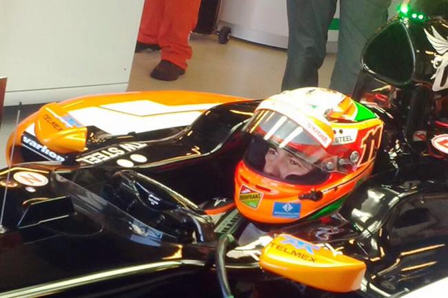 Sergio Pérez - Sahara Force India - Gran Premio de Australia 2014 - Viernes